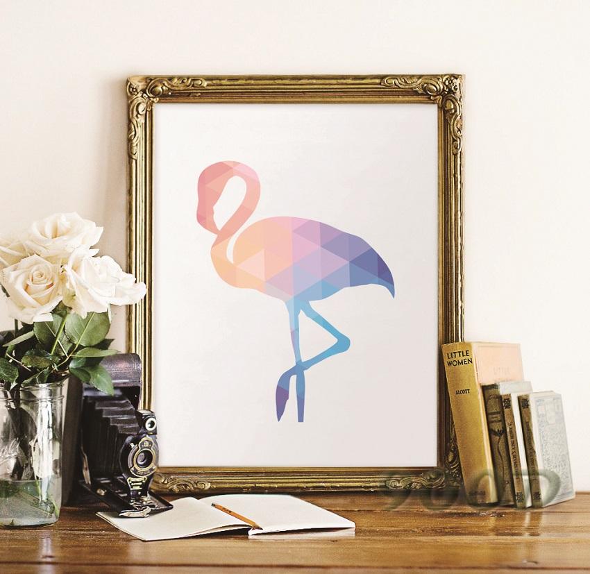 Flamingo kunstdrucke beurteilungen online einkaufen flamingo kunstdrucke beurteilungen auf - Geometrische wandbilder ...