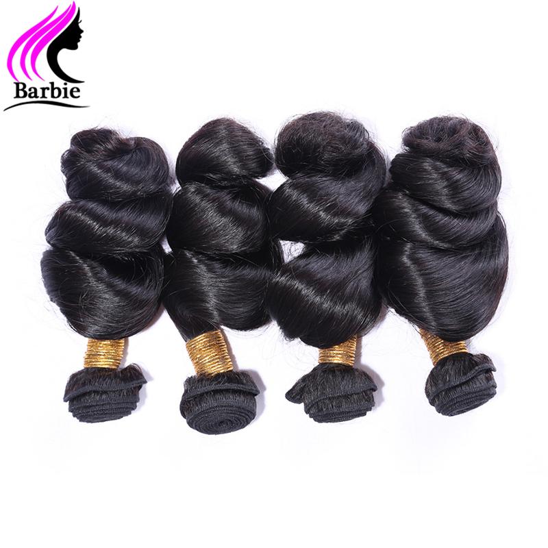 Malaysian Hair Extension Loose Wave 3 Bundles 7a Unprocessed Virgin Hair Malaysian Virgin Hair Loose Wave 1B Top Hair Extensions<br><br>Aliexpress