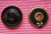 Free shipping10pcs Speaker Speaker 2W8R / Europe 8R2W 8 Europe 2W 28MM 2.8CM thickness of 6mm