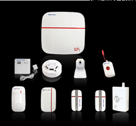 Здесь можно купить  WIFI&GSM smart home dual network security alarm system support One-key SOS alarm with HD ip camera,Smoke detector,Gas detector  Безопасность и защита