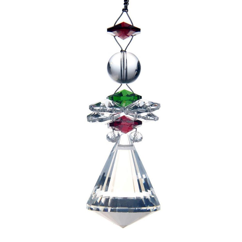 Green 1 Rainbow Maker Suncatcher K9 Crystal Lamp Prisms Chakra Pendants Drops 50mm M02515-3<br><br>Aliexpress