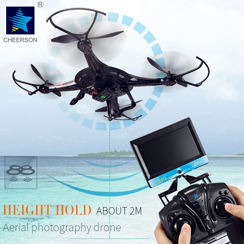 Rc Plane Cheerson CX-32 CX-32C CX-32W CX-32S Drone With Camera HD 2MP 720P 4CH 6-axis Gyro 5.8G FPV Aircraft 3D Flip Quadcopter(China (Mainland))
