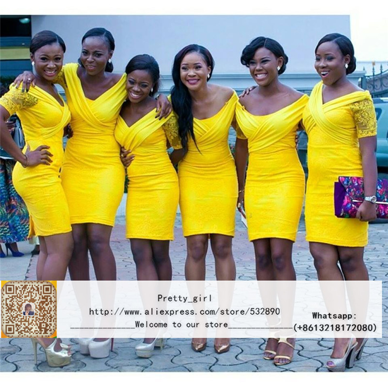 Yellow wedding party dresses dress ideas for Yellow wedding guest dress