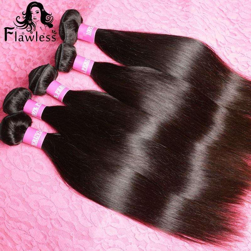 "6A Unprocessed Peruvian Virgin Hair Straight 3Pcs Lot Cheap Price Human Hair Extensions 8""-30""inch Shipping Free(China (Mainland))"