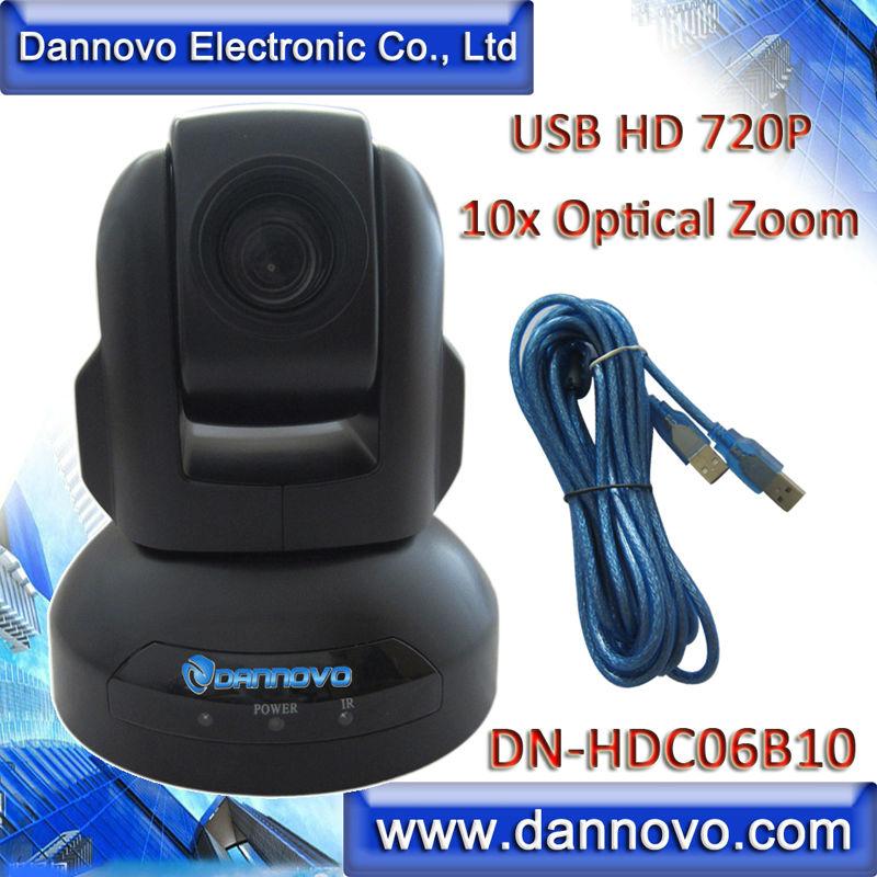 Free Shipping DANNOVO HD USB Web Conferencing Camera,10x Optical Zoom HD 720P WebCam(DN-HDC06B10)(China (Mainland))