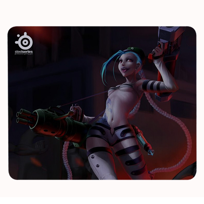 League Legends Mouse Pad High Jinx Computer Game Mouse Pad Speed Control Optical Notebook Large Mouse Pad