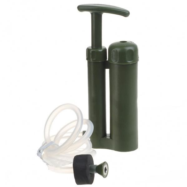 Outdoor Survival Hiking Portable Camping Mini Water Purifier Soldier Military Water Filter Military Water Filter Survival Kits(China (Mainland))