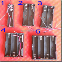 18650 Set Battery Storage Box Case Holder 1*2*3*4* 18650 Series Pack ,Free Shipping