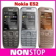 E52 Original Nokia E52 Unlocked Mobile Phone Bluetooth WIFI GPS 3G Cell Phone Russian Keyboard Refurbished(China (Mainland))