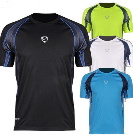 High Quality Brand Design Men Casual O-neck Cool T-shirts Male Bike Sports Quick Dry Shirts(China (Mainland))
