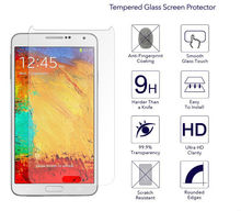 For Samsung Note4 s6 s5 s4Tempered Glass Film 9H Round High Definition Screen protector Tempered Glass for Samsung Galaxy Note 3