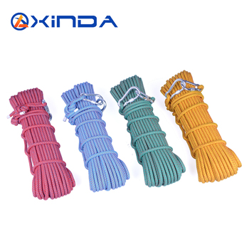 Life-saving rope xinda hiking rope 10.5mm climbing rope power cord outdoor hiking rope