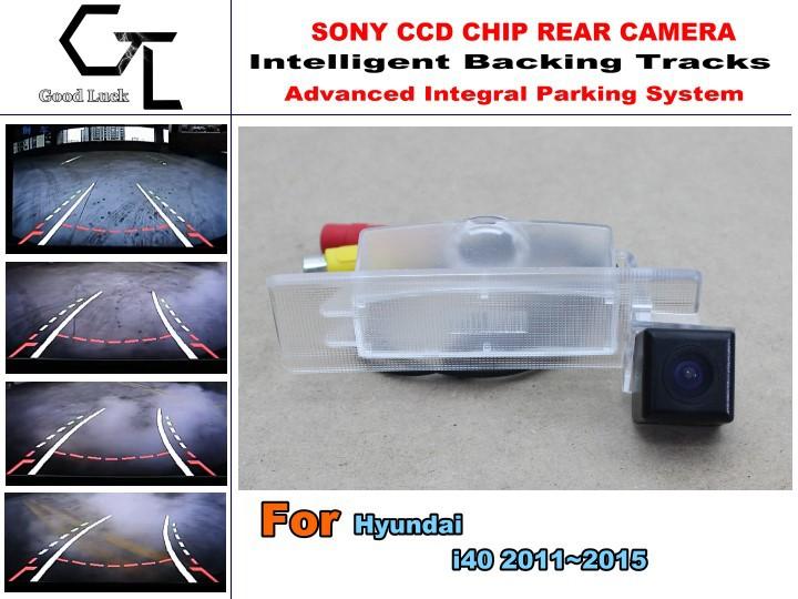 Smart Backing Tracks Camera For Hyundai i40 2011~2015 / Reversing Park Camera / High Definition / Car Electronic Accessory(China (Mainland))