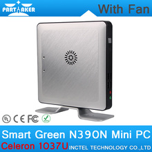 4G RAM only OEM Mini Desktop PC with Fan Intel Celeron 1037U CPU Dual Core Linux Embedded Computer Parts