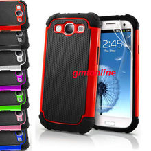 Heavy Duty Impact Rugged Hard Case Cover For Samsung Galaxy S3 i9300 Free Shipping(China (Mainland))