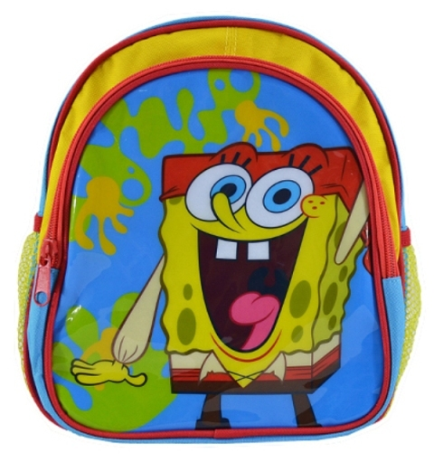 """10"""" Sponge Bob School Backpack bags for Baby, Bags, Cartoon Bags, Welcome for wholesale HSBO10-02(China (Mainland))"""