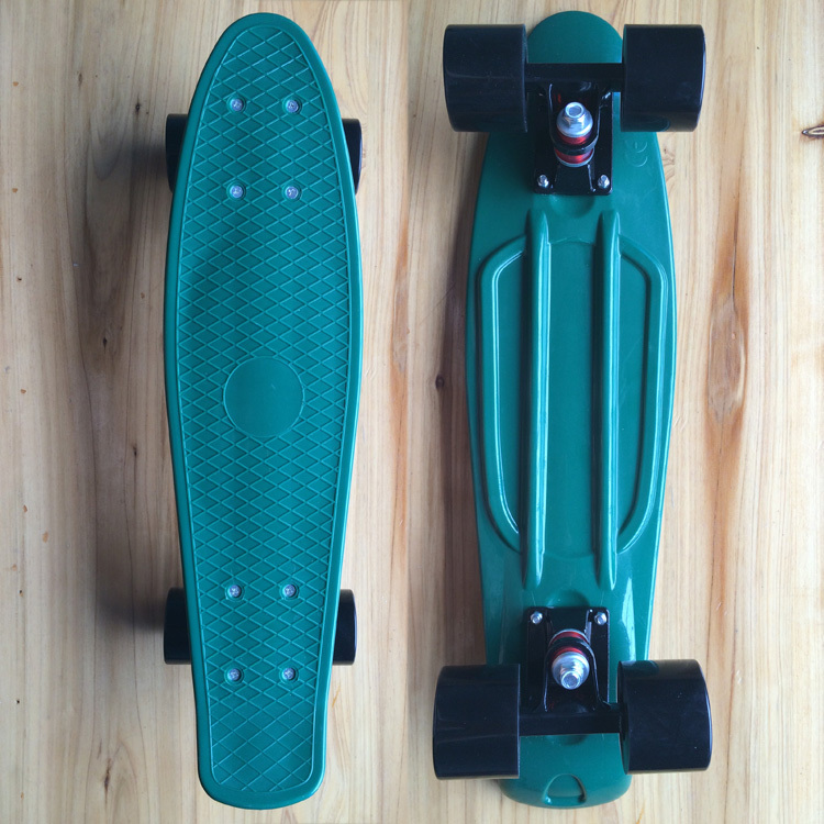 """Penny Style Board 22"""" Penny Style Skateboard Complete Longboard Dark Green with Black wheels(China (Mainland))"""