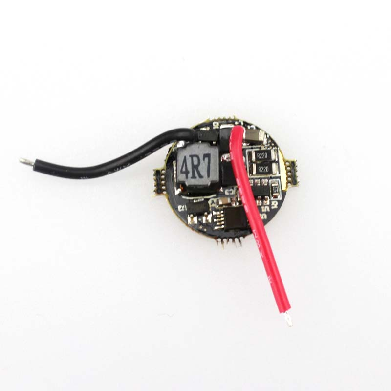 17mmx5mm 2.9V-8.4V 2A 5-Mode LED Circuit Board for LED Flashlight 10pcs(China (Mainland))