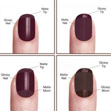 Candy Lover 1 piece Soak Off Led UV Matte Top Coat Gel Polish Nail Art Tips