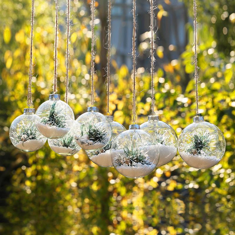 adornos de bolas de cristal de alta calidad compra lotes