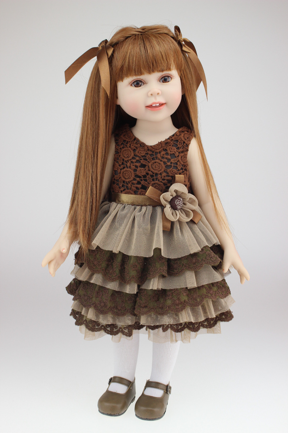 Brown Long Straight Hair American Girl Dolls For Sale 18