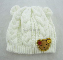 Winter ear protector knitted hats for boy/girl/kits hats,infants caps beanine chilldren-Dot turtleneck 1pcs/lots  MC02(China (Mainland))