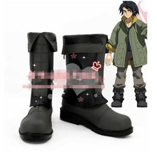 Mobile Suit Gundam: Iron-Blooded Orphans Mikazuki Augus Cosplay Shoes High Quality Pleather
