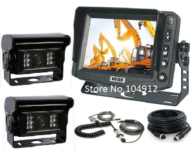 "5"" Trailer Digital Auto Shutter Rear View Camera System, Back Up Camera System Reverse Camera System(China (Mainland))"