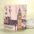 Fashion Women Leather Wallet Big Ben Eiffel Tower Graffiti Female Lady Wallet Coin Card Purse portefeuille