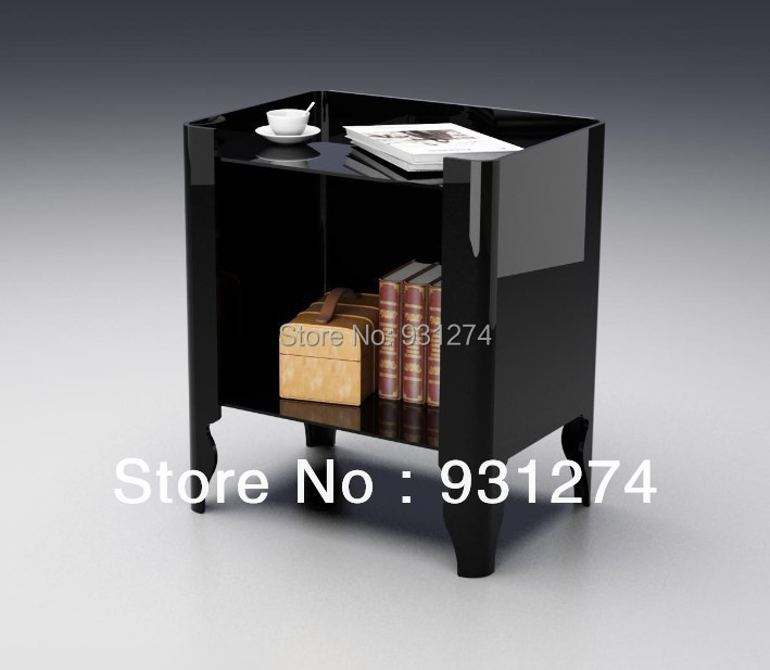 Acrylic Night Stands Bedside Cabinet Coffee Tables With