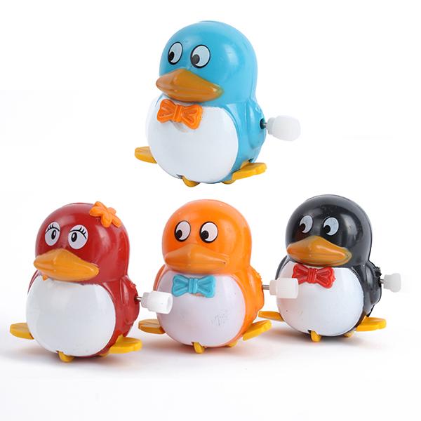 Гаджет  High Quality FreeShipping Plastic Fun Movement Penguins Wind Up Walking Toys Kids Developmental Toys None Игрушки и Хобби