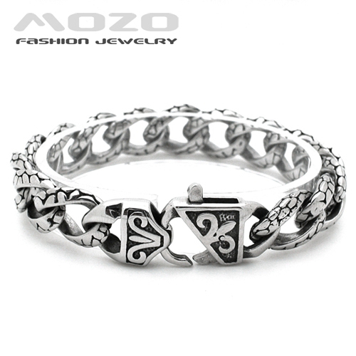 2015 Hot fashion jewelry men bracelets Stainless steel Leopard Print Bracelet man charms High quality creative