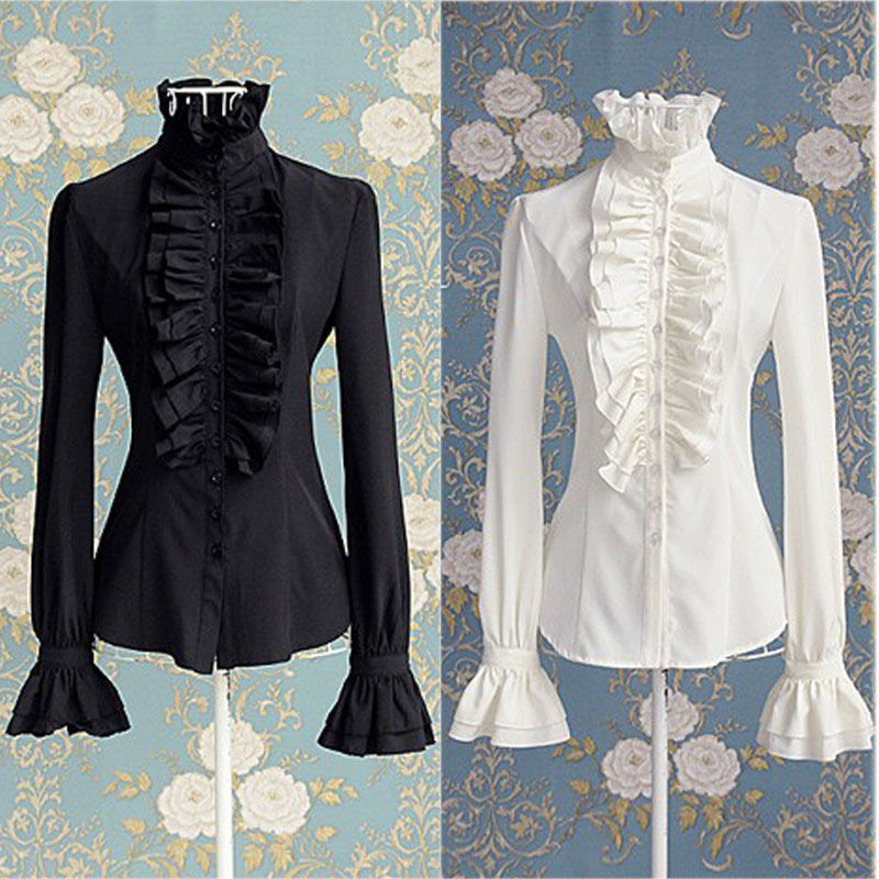 Frilly Victorian Blouse 22