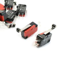 IMC Caliente 10 Unids Límite Micro Interruptor Largo Hinge Roller Lever Arm MONTÓN de Acción Rápida