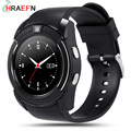 V8 Smart Watch reloj inteligente with Camera Bluetooth Sync Notifier SmartWatch wearable devices For IOS Android
