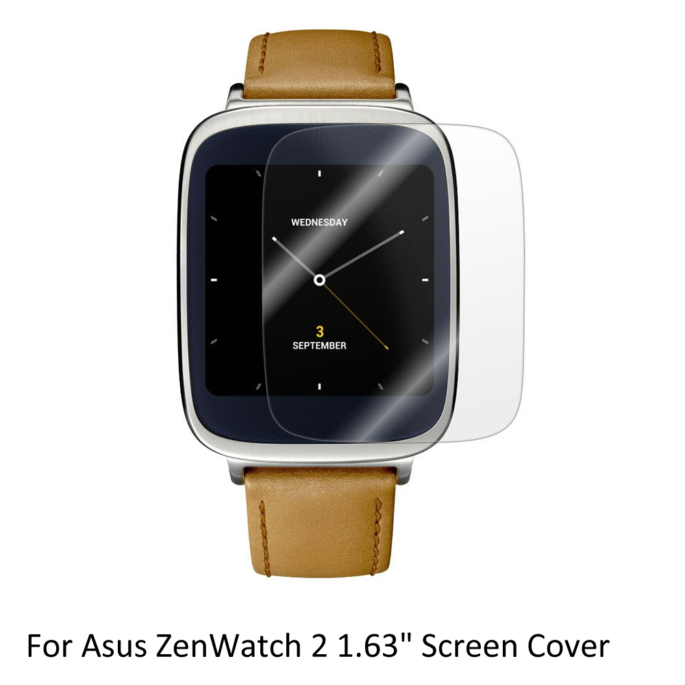 3x Clear LCD Screen Protector Guard Cover Shield Film Skin for <font><b>Asus</b></font> ZenWatch 2 1.63'' Sporting <font><b>Smart</b></font> <font><b>Watch</b></font> Accessories