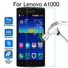 Buy Lenovo A1000 Tempered glass Cover 4.0 inch Screen Protector Glass Lenovo A1000 1000 A2800 phone protective film Case for $1.38 in AliExpress store