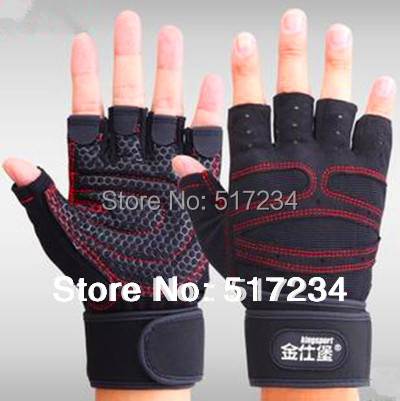 2015 Fitness Gloves Exercise Training Weightlifting Bodybuilding Gym Gloves Outdoor Multifunction Sports Gloves(China (Mainland))