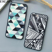 Buy Luxury Geometry Triangle Hard PC Phone Cases Apple iPhone 7 6 6s 5 5s SE Plus Back Cover Case Capa Coque Fundas iPhone 7 for $1.89 in AliExpress store