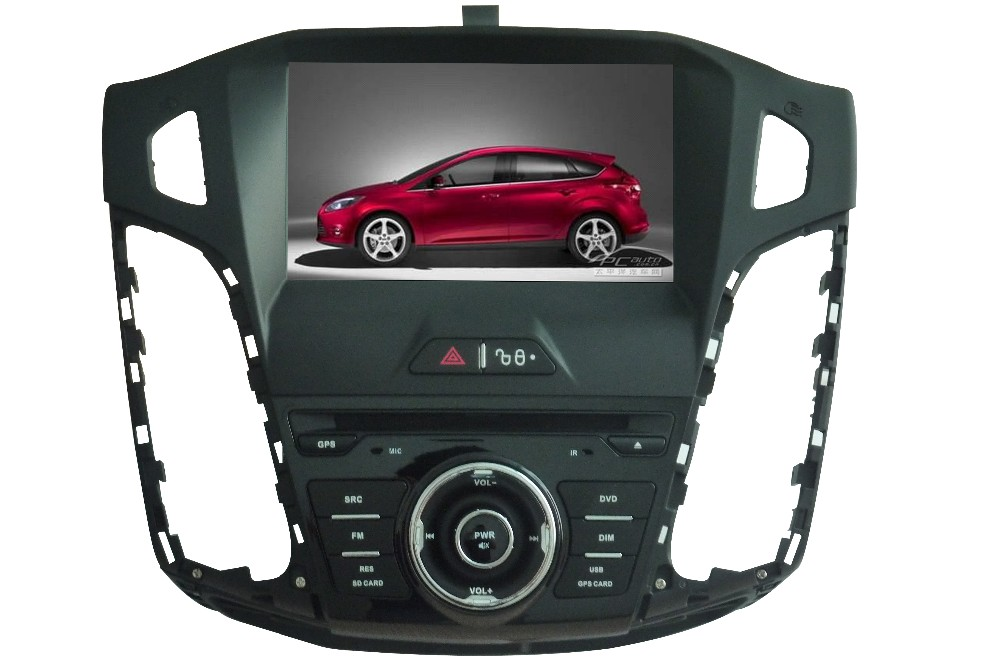 8 Inch Car DVD Player For Ford Focus 3 For C-MAX 2012 With 3G Canbus GPS Navigation Bluetooth Radio RDS Free Map(China (Mainland))