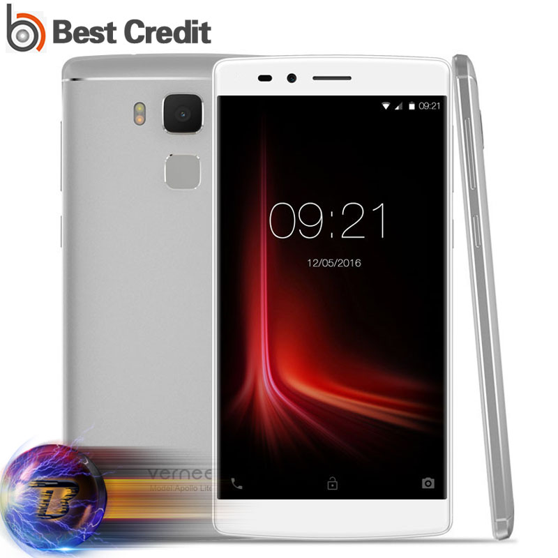 """Presale Vernee Apollo Lite Cellphone 4G LTE 5.5"""" HD Android 6.0 4GB 32GB MTK6797 Deca Core 2.3GHz 16.0MP Touch ID 1080P 3180mAh(China (Mainland))"""