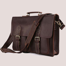 New genuine leather business bag real cowhide laptop briefcase man bags men's handbags with  briefcase dress male bags(China (Mainland))