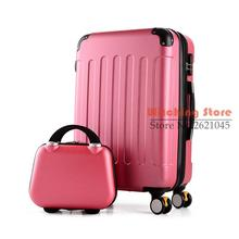 28 INCH 2022242628# Picture box female 20 caster password 24 suitcase Auchan Travel Cosmetic Case Bag #EC FREE SHIPPING(China (Mainland))