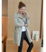 Fdfklak новый тонкий одежда для беременных Беременность Куртки куртка для беременных женские пальто ropa maternidad mujer(China)