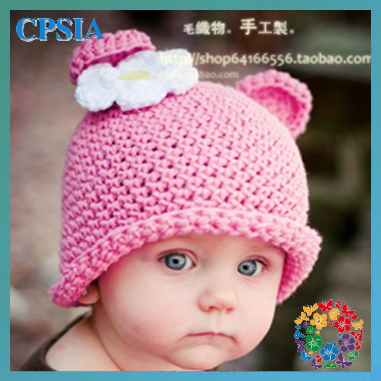 Cute baby Owl hat Fashion style baby caps Owl crochet hat ...
