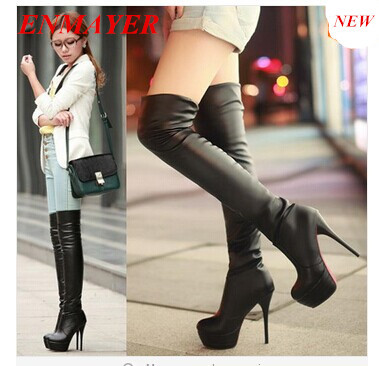 Thigh High Heels Boots
