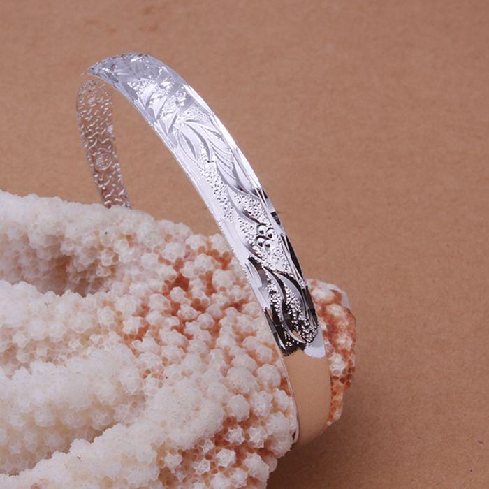 Посеребренные браслеты для женщин 925 мода серебряные украшения браслеты браслеты браслет / VOPIZHSHB185 ULSMTHKR