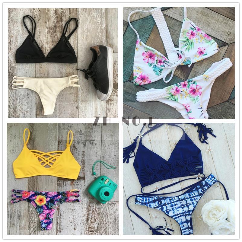 Swimwear Bikini 2016 Summer Sexy Swimwear Women Swimsuit Neoprene Bikini Push Up Bikini set Bathsuit 01(China (Mainland))