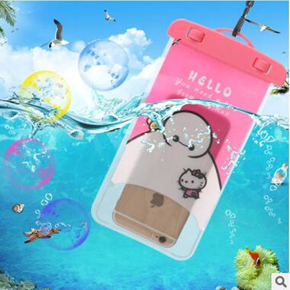 100%Sealed Waterproof Bag Pouch Phone Cases for LG G2 G3 G4 Stylus Best G5 V10 Spirit H440 K7 K10 Nexus 4 5 5X L70 L80 L90(China (Mainland))