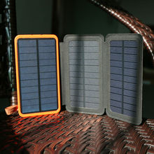 Portable Solar Charger 10000mAh Rechargeable Battery Charger Support Solar Charging Compatible for iPhone Samsung HTC Sony LG.(China (Mainland))